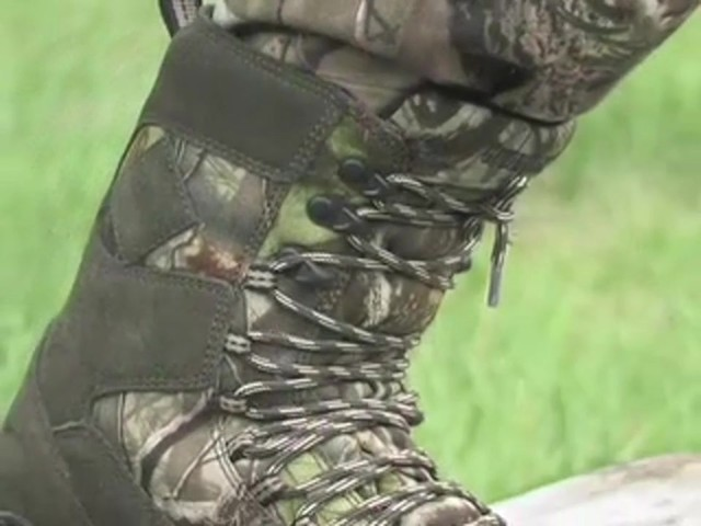 Men's Guide Gear® Waterproof ScentMask™ Shadow Sneaker Hunting Boots Camo - image 10 from the video