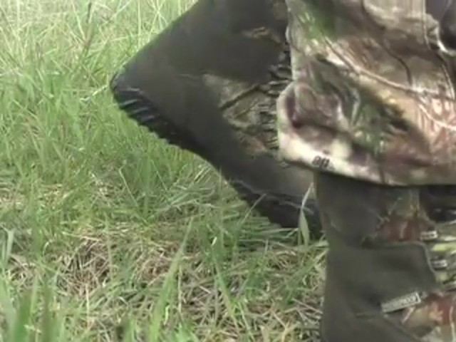 Men's Guide Gear® Waterproof ScentMask™ Shadow Sneaker Hunting Boots Camo - image 3 from the video