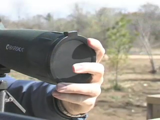 Barska® 25 - 75x75 mm Spotter - image 4 from the video