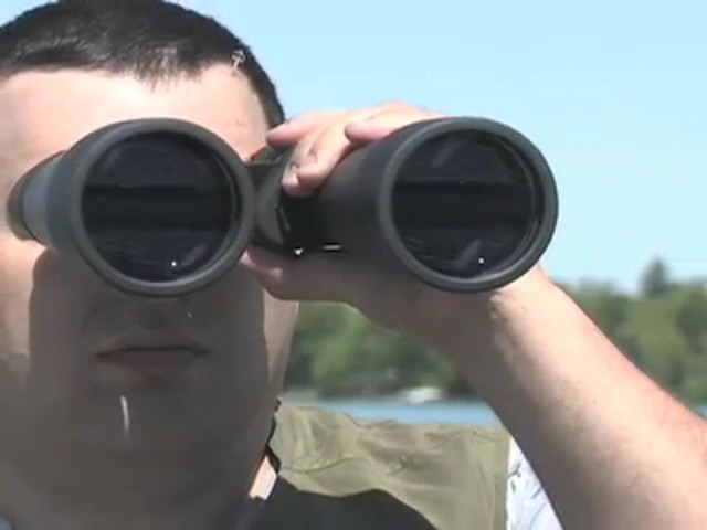 Military Zoom 20 - 140x70 mm Binoculars Matte Black - image 1 from the video