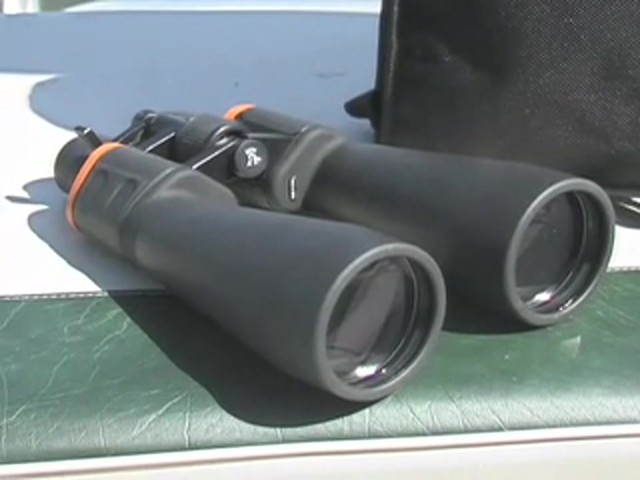 Military Zoom 20 - 140x70 mm Binoculars Matte Black - image 10 from the video