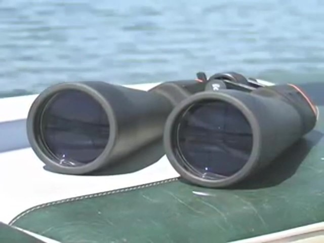 Military Zoom 20 - 140x70 mm Binoculars Matte Black - image 7 from the video