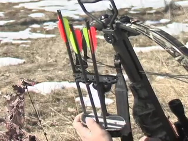 Arrow Precision® Hellfire™ Crossbow Kit Camo - image 7 from the video