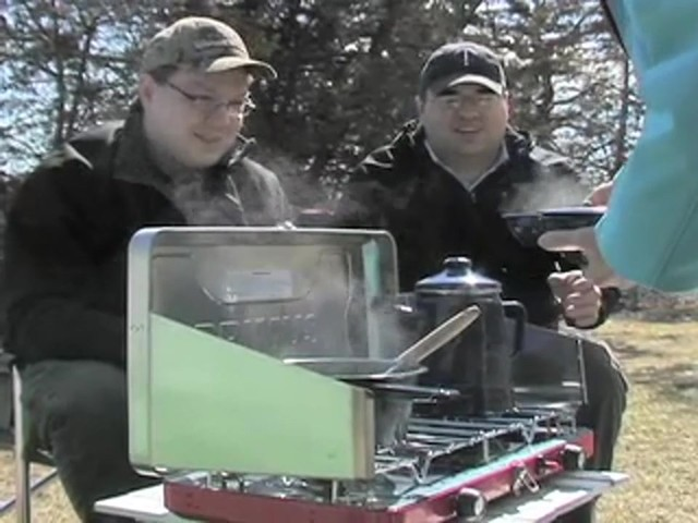 Primus® Atlas 2 - burner Campstove - image 6 from the video