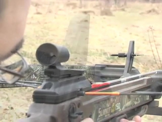 Horton® 150 - lb. Summit Crossbow Realtree® Hardwoods HD® - image 4 from the video