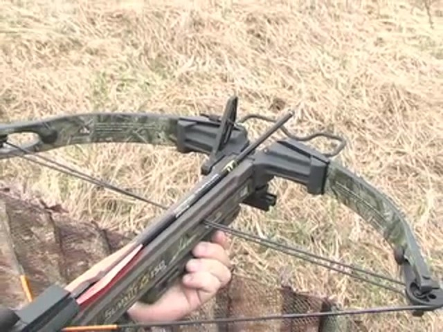 Horton® 150 - lb. Summit Crossbow Realtree® Hardwoods HD® - image 5 from the video