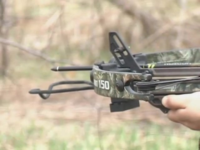 Horton® 150 - lb. Summit Crossbow Realtree® Hardwoods HD® - image 7 from the video