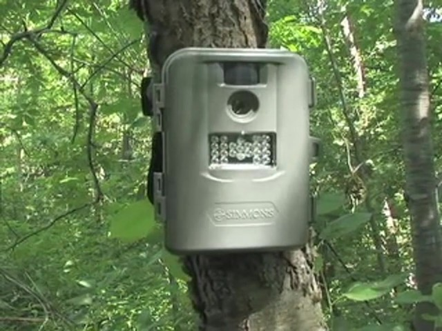 Simmons® 5 MP Infrared Trail Camera - image 1 from the video
