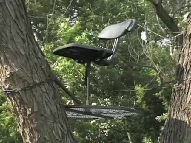 "Guide Gear® 30"" Leveling Tree Stand - image 10 from the video"