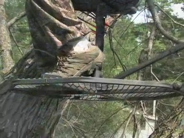 "Guide Gear® 30"" Leveling Tree Stand - image 2 from the video"