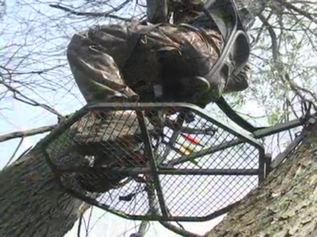 "Guide Gear® 30"" Leveling Tree Stand - image 6 from the video"