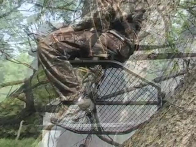 "Guide Gear® 30"" Leveling Tree Stand - image 7 from the video"