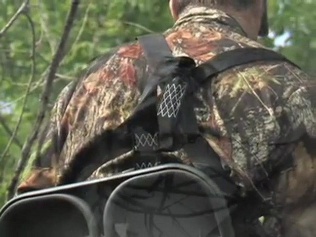 "Guide Gear® 30"" Leveling Tree Stand - image 9 from the video"