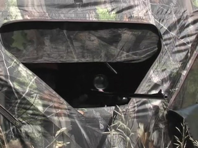 Guide Gear® Deluxe 5 - hub Ground Blind Next Camo® - image 6 from the video