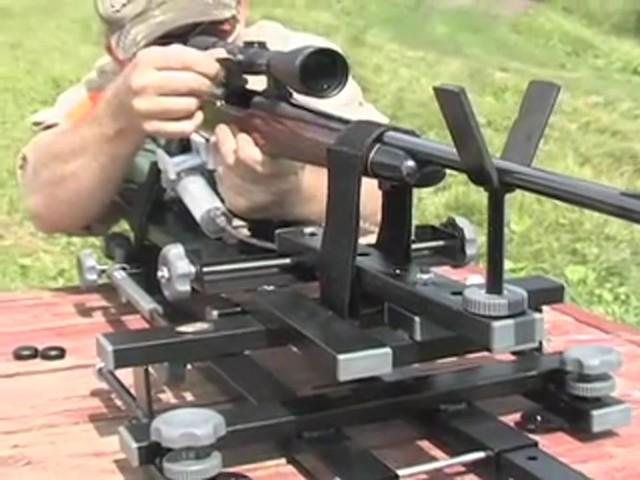 hyskore black gun machine shooting rest