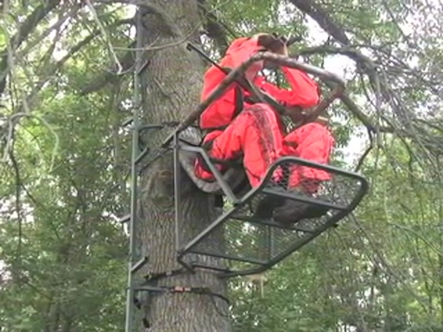Guide Gear® Extreme Comfort Tree Stand - image 1 from the video