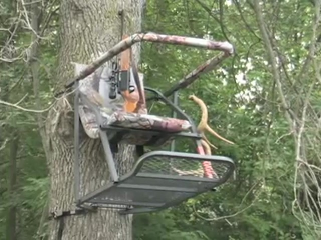 Guide Gear® Extreme Comfort Tree Stand - image 10 from the video