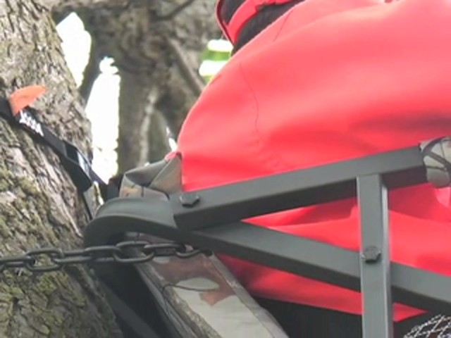 Guide Gear® Extreme Comfort Tree Stand - image 2 from the video
