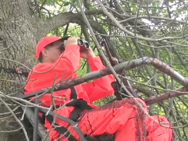 Guide Gear® Extreme Comfort Tree Stand - image 4 from the video