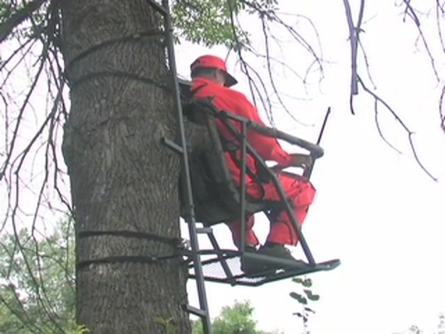 Guide Gear® Extreme Comfort Tree Stand - image 6 from the video