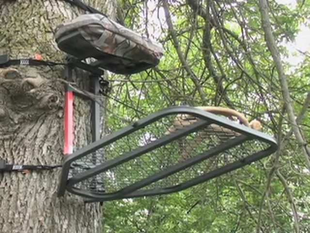 Guide Gear® Climbing Stick and Tree Stand Combo - image 10 from the video