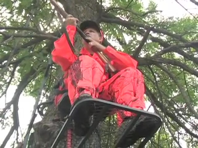 Guide Gear® Climbing Stick and Tree Stand Combo - image 6 from the video