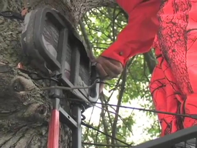 Guide Gear® Climbing Stick and Tree Stand Combo - image 9 from the video