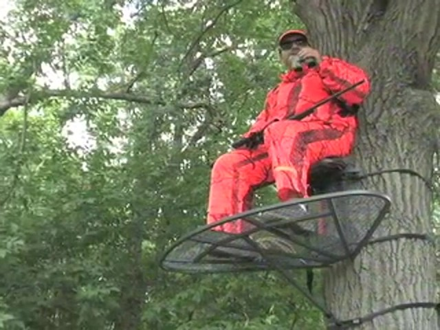 Guide Gear® Magnum Extreme Hang - on Tree Stand - image 1 from the video