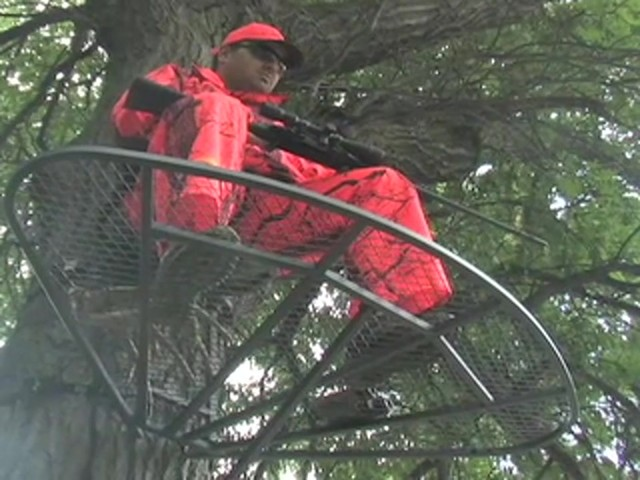 Guide Gear® Magnum Extreme Hang - on Tree Stand - image 8 from the video