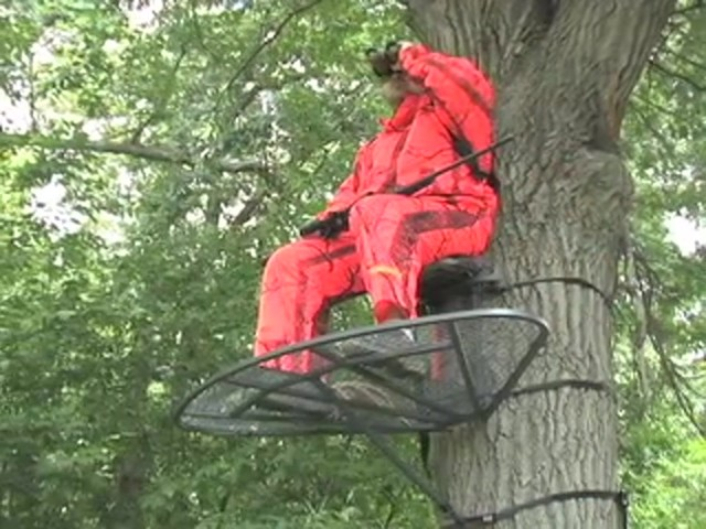 Guide Gear® Magnum Extreme Hang - on Tree Stand - image 9 from the video
