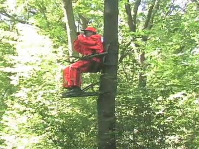 Guide Gear® Extreme Deluxe Climber Tree Stand - image 1 from the video