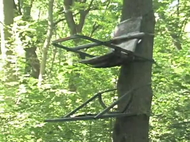 Guide Gear® Extreme Deluxe Climber Tree Stand - image 10 from the video