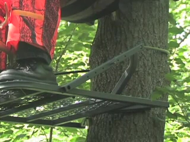 Guide Gear® Extreme Deluxe Climber Tree Stand - image 3 from the video