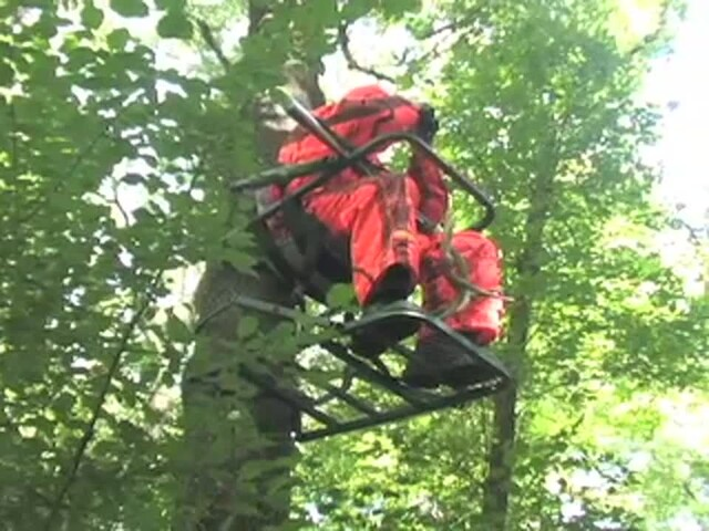 Guide Gear® Extreme Deluxe Climber Tree Stand - image 4 from the video