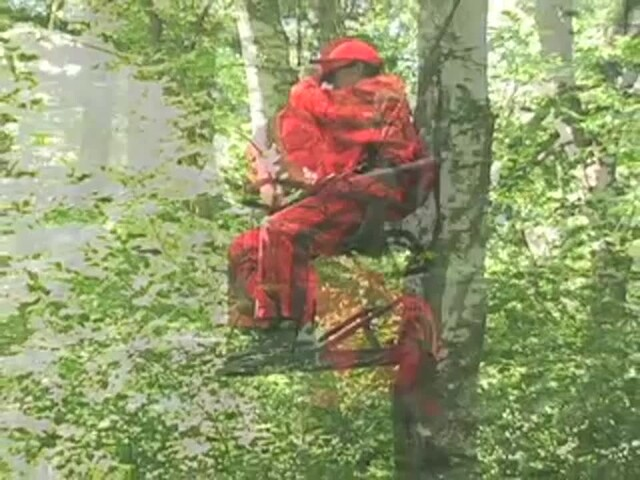 Guide Gear® Extreme Deluxe Climber Tree Stand - image 5 from the video