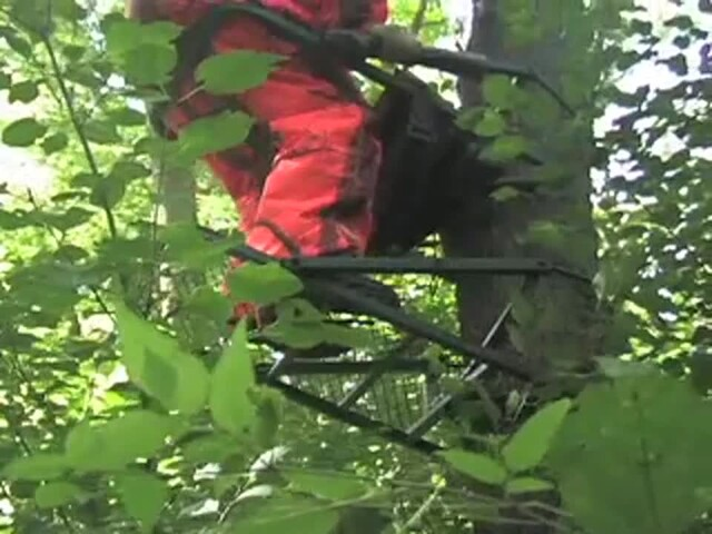 Guide Gear® Extreme Deluxe Climber Tree Stand - image 6 from the video