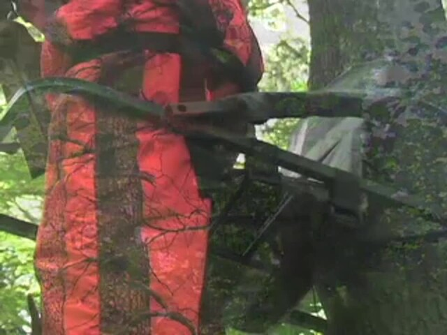 Guide Gear® Extreme Deluxe Climber Tree Stand - image 7 from the video