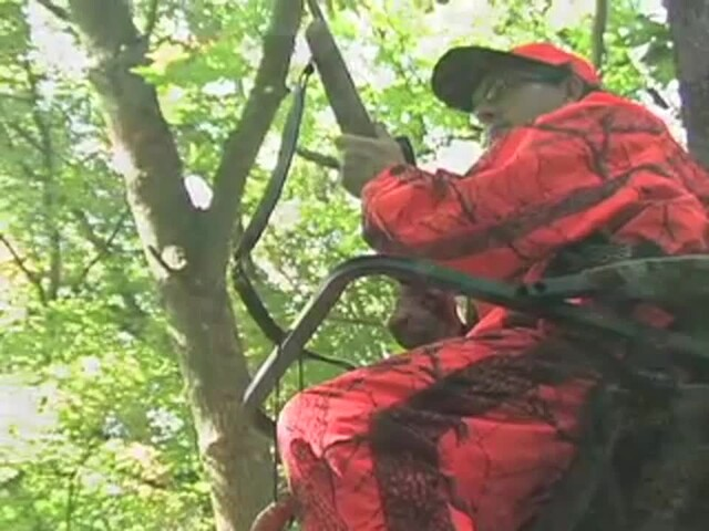 Guide Gear® Extreme Deluxe Climber Tree Stand - image 8 from the video