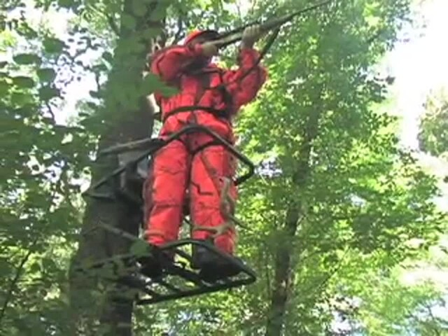 Guide Gear® Extreme Deluxe Climber Tree Stand - image 9 from the video