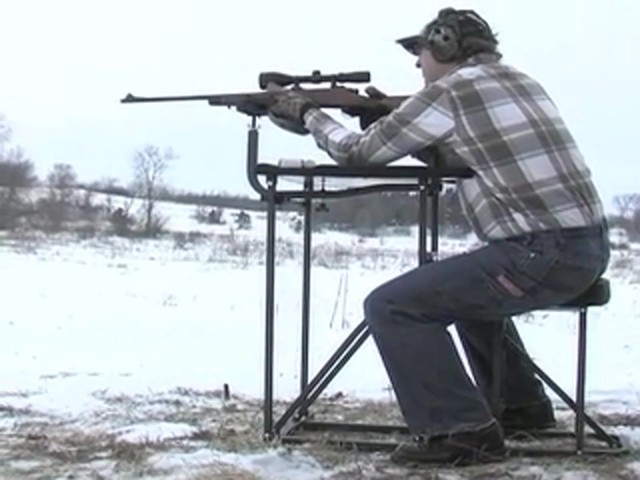 Southwest Tactical® Buck Shooting Bench - image 10 from the video