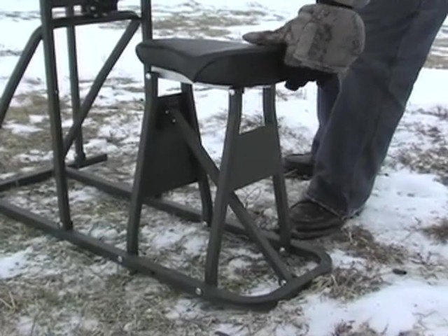 Southwest Tactical® Buck Shooting Bench - image 3 from the video
