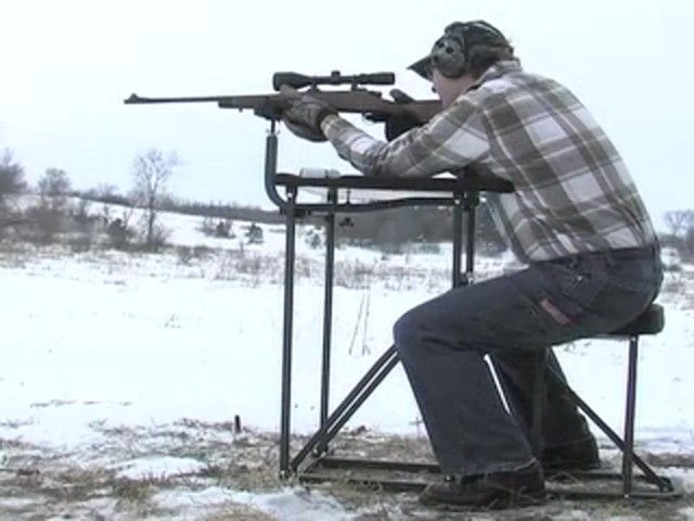 Southwest Tactical® Buck Shooting Bench - image 9 from the video