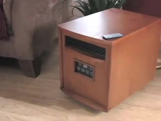 Lifesmart® 1500W Infrared Heater - image 10 from the video