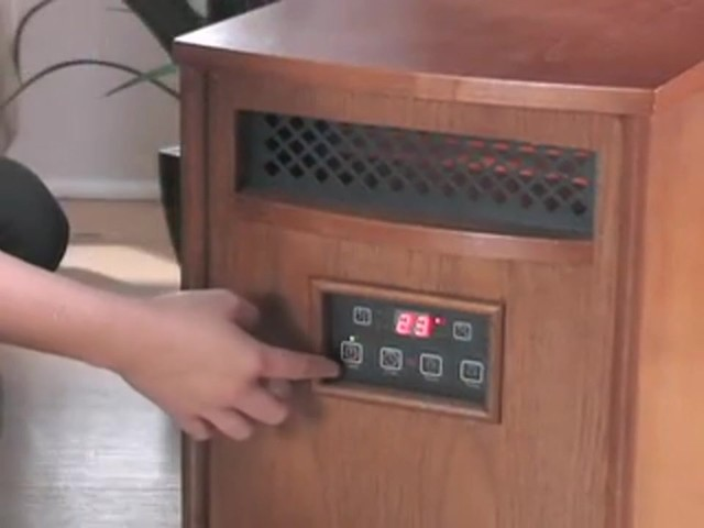 Lifesmart® 1500W Infrared Heater - image 4 from the video