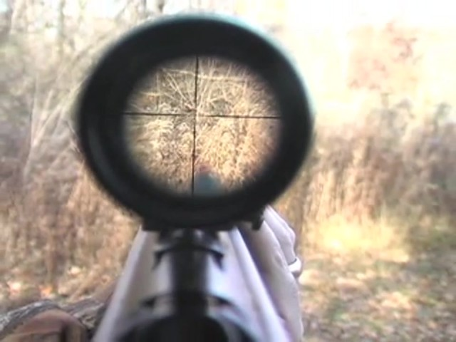 Hatsan® Model 95 .22 cal. Walnut Air Rifle with 3 - 9x32 mm AO Scope - image 6 from the video