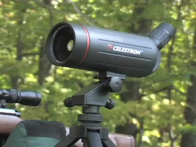 Celestron® C70 25 - 75x70 mm Spotter - image 10 from the video