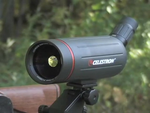 Celestron® C70 25 - 75x70 mm Spotter - image 2 from the video