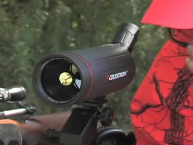 Celestron® C70 25 - 75x70 mm Spotter - image 9 from the video