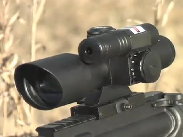 AIM Sports® Green Laser Scope Matte Black - image 10 from the video