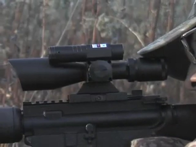 AIM Sports® Green Laser Scope Matte Black - image 2 from the video